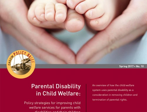 Parental Disability in Child Welfare (PB#10)